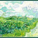 Van Gogh - Green Wheat Fields, Auvers by virginia50