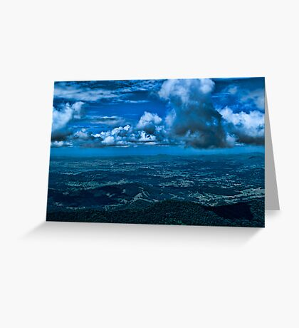 Storm Across the Border Greeting Card