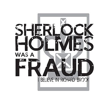 sherlock holmes was a fraud by almonster