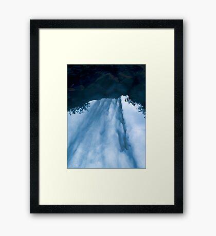 Beyond the Waterfall Framed Print