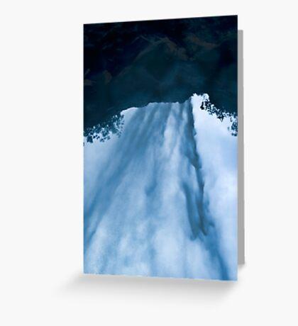 Beyond the Waterfall Greeting Card