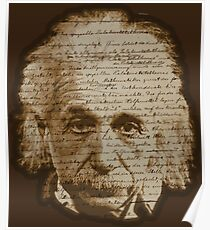 Einstein - General Theory of Relativity Poster