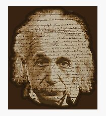 Einstein - General Theory of Relativity Photographic Print