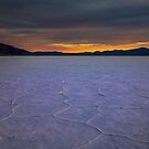 Death Valley Badwater Sunset Winter 2019 by photosbyflood