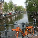 Amsterdam Bicycles and Canals by chibiphoto