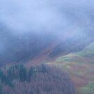 Creag Mhor Mist by ShinyPhoto