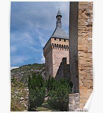 Chateau de Foix Poster
