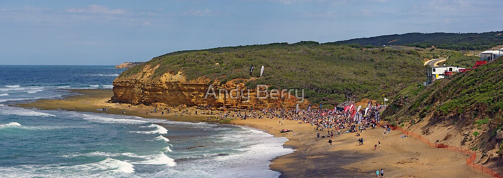 Bells Beach, Easter, 2010 by Andy Berry