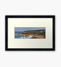 Bells Beach, Easter, 2010 Framed Print