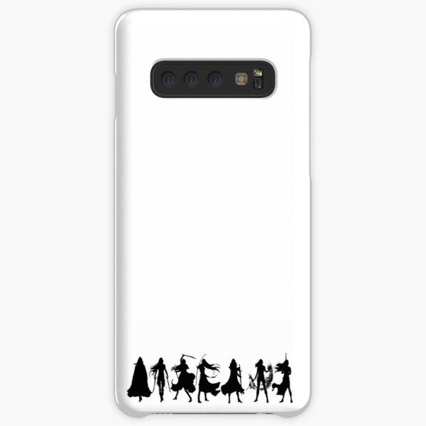 Throne of glass cover silhouettes  Samsung Galaxy Snap Case
