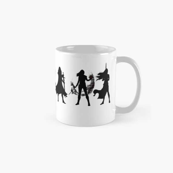 Throne of glass cover silhouettes  Classic Mug