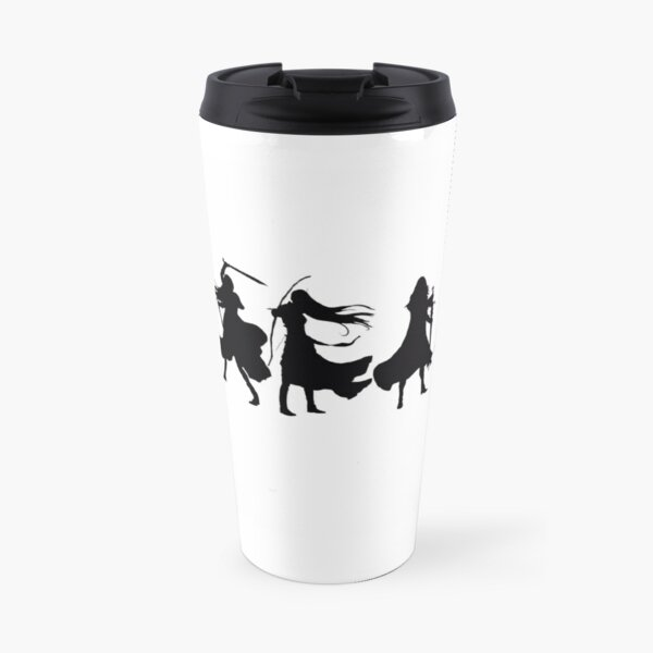Throne of glass cover silhouettes  Travel Mug