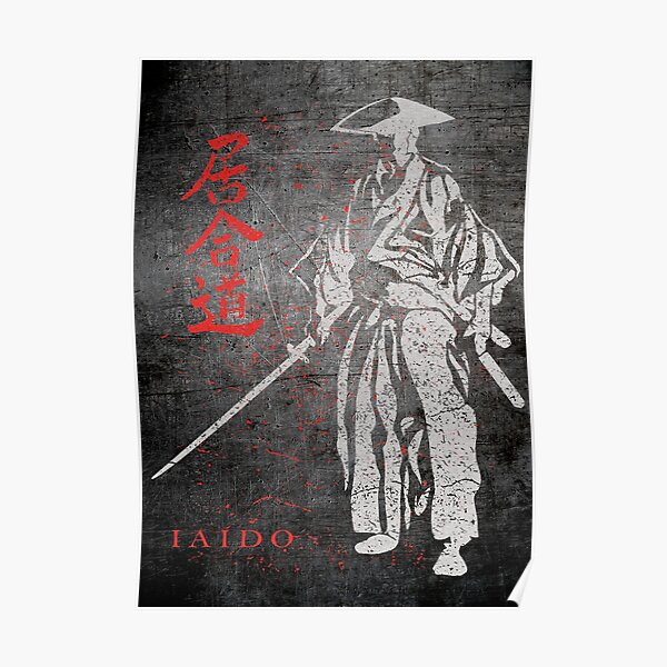Iaido Samurai Poster