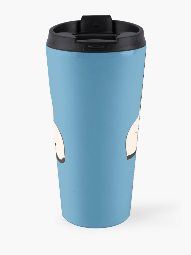 Alternate view of Siamese Cats Circle Travel Mug