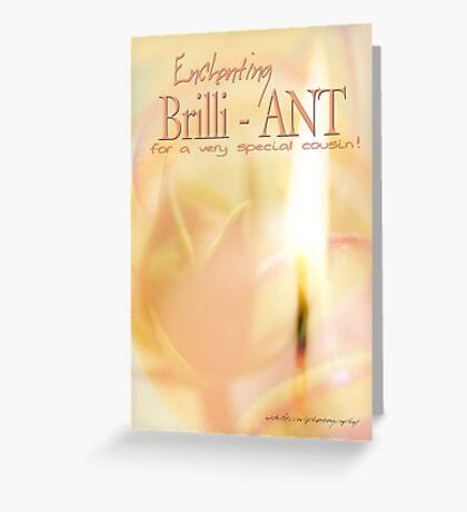 Brilli - ANT © Cousin Greeting Card