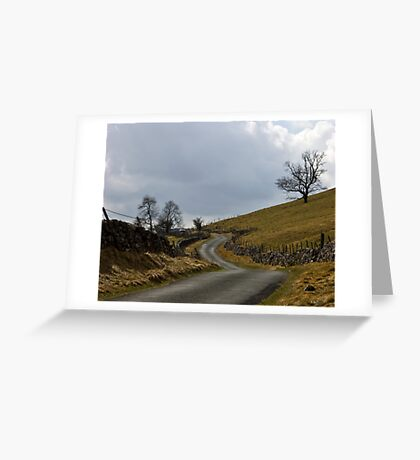 Hill Road Greeting Card