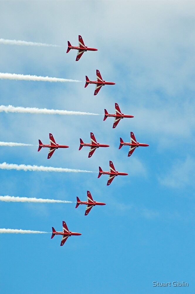 2. Red Arrows at Llandudno by Stuart Giblin