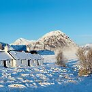 Blackrock Cottage, Buachaille Etive Mor and Glencoe by Jonathan Maddock
