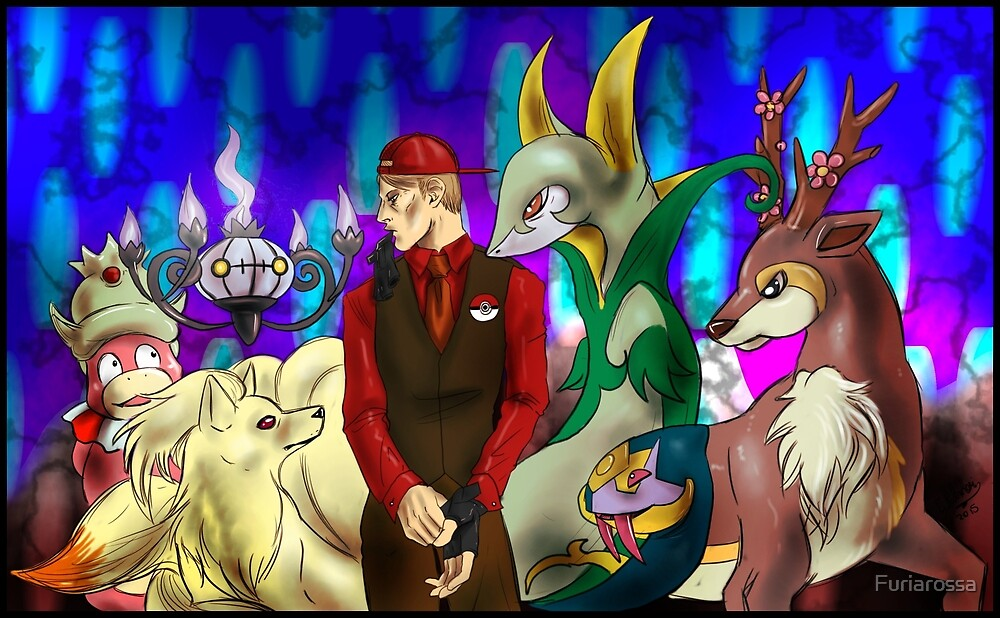 Hannibal - Lecter's pokemon squad by Furiarossa