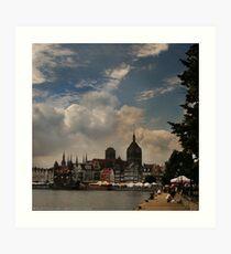 View of Gdansk Art Print