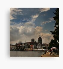 View of Gdansk Canvas Print
