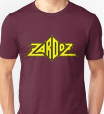 Zardoz Yellow Black Unisex T-Shirt