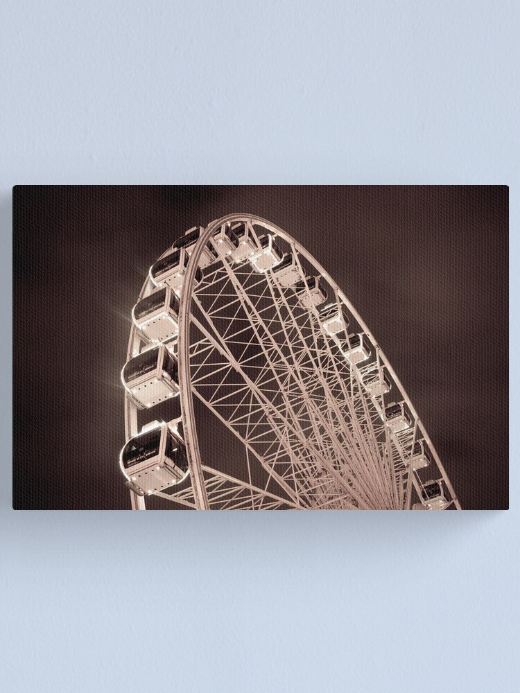 Alternate view of The Wheel Canvas Print