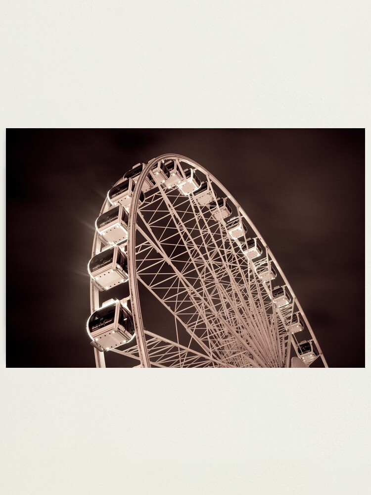 Alternate view of The Wheel Photographic Print