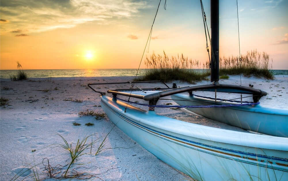 Sleeping Sailboat by Clay Townsend