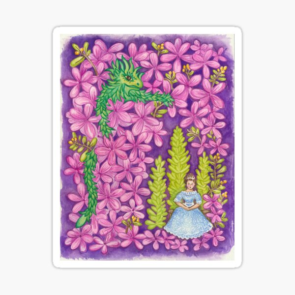 Esmeralda in Princess Ingeborgs Azaleas Sticker
