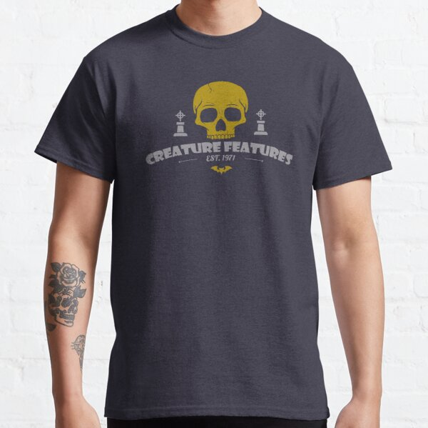 Creature Features Skull Classic T-Shirt