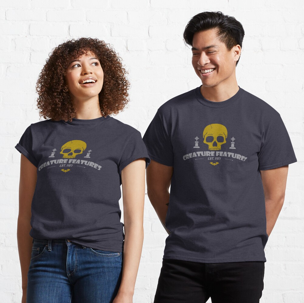 Creature Features Skull Classic T-Shirt