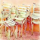 Stacked Chairs by CJ Anderson