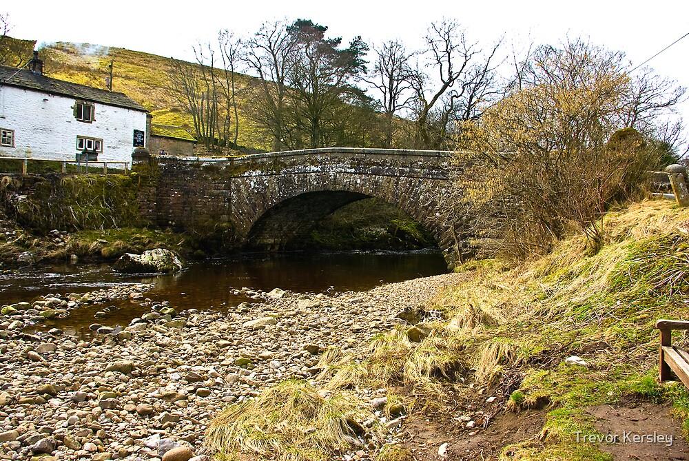Pack Horse Bridge - Hubberholme by Trevor Kersley