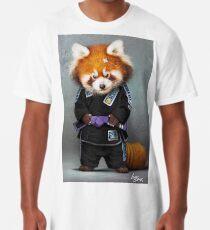 Roter Panda Longshirt
