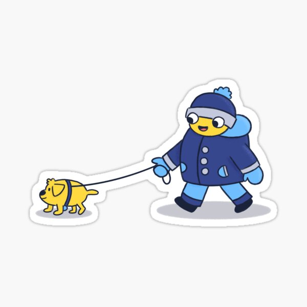 Peeps & Pups (1/3) Sticker