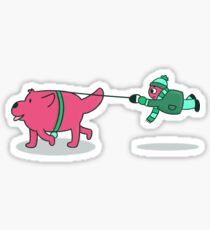 Peeps & Pups (2/3) Sticker