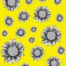 Pretty Sunflower Pattern by Lukasz  Czyzewski