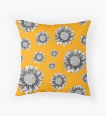 Pretty Sunflower Pattern Bodenkissen