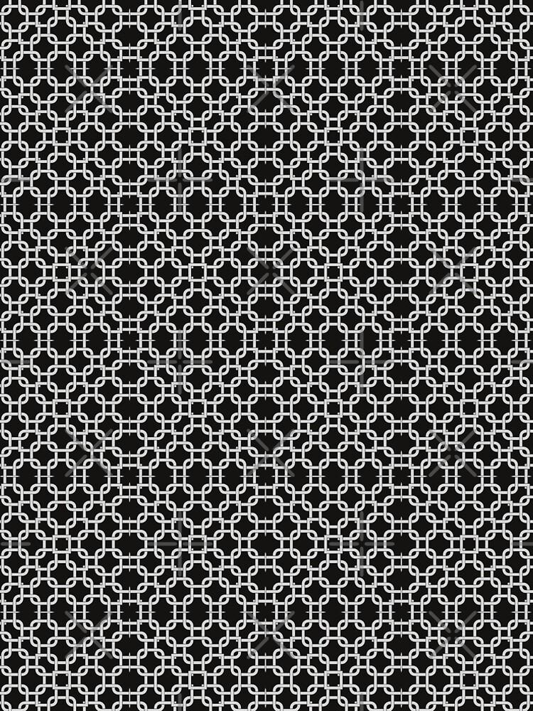 Interlock Black and White Patterns V2019-2 by webgrrl