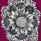 Sunflower Bouquet   by Lukasz  Czyzewski