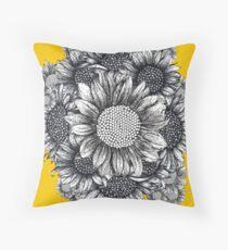 Sunflower Bouquet  Bodenkissen