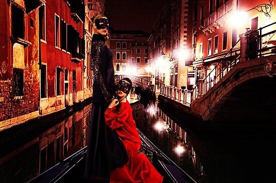Haute Couture Venice Fine Art Print by stockfineart