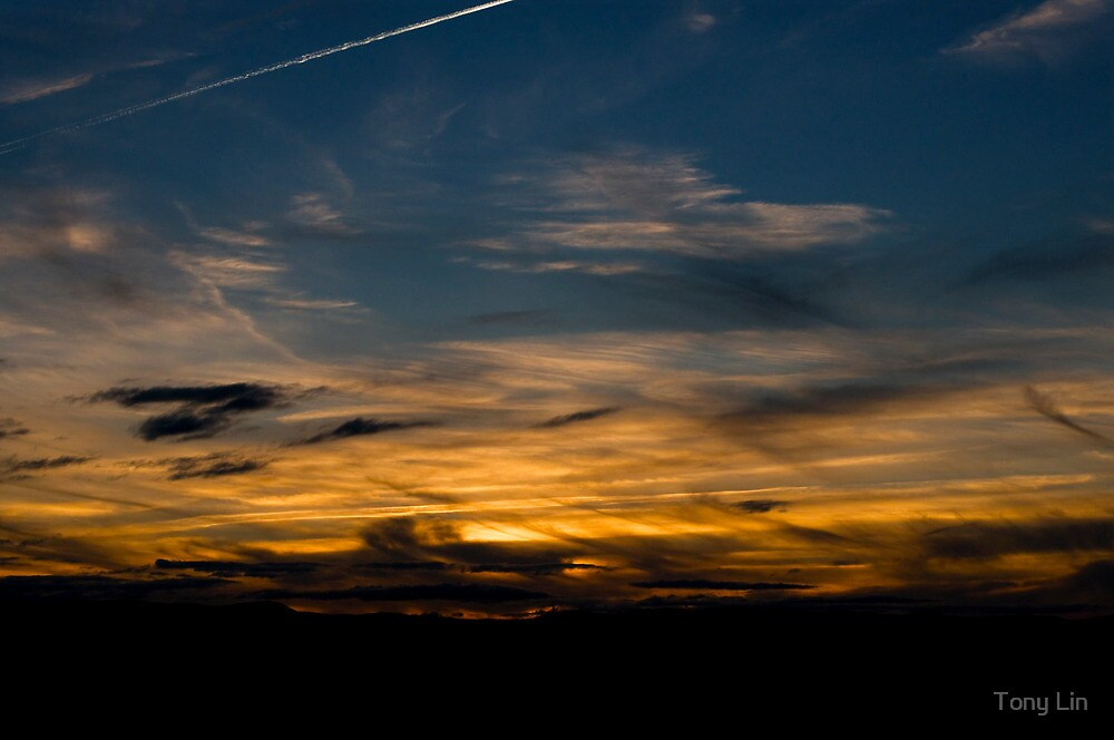 Sunset Shot From Mt Painter by Tony Lin