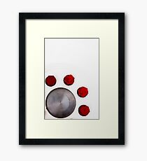 Red Nuts Framed Print