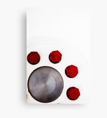 Red Nuts Canvas Print