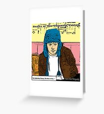 Danny of The Underdog Theory The Story So far Greeting Card