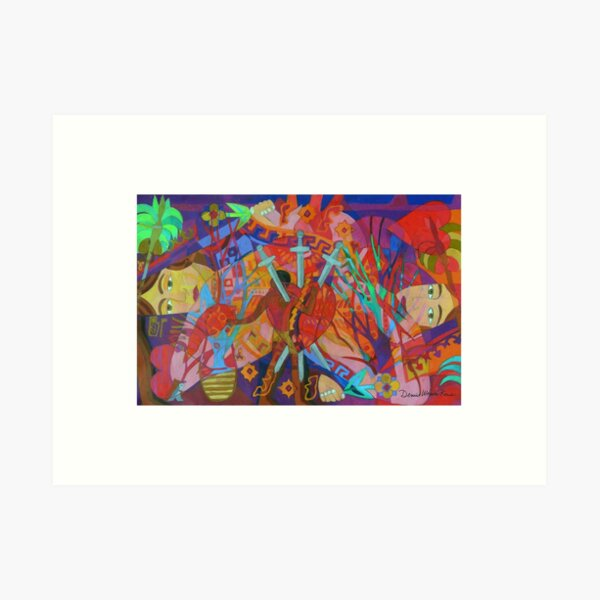 Queen of Heart Transplants Giclee with Borders Art Print