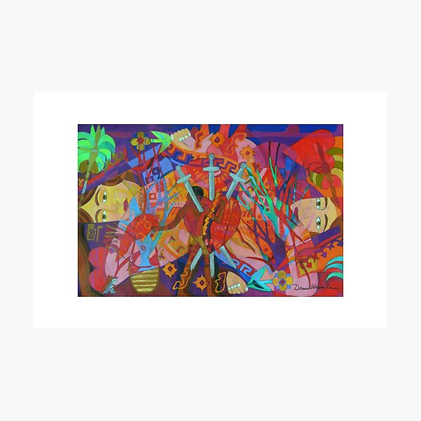 Queen of Heart Transplants Giclee with Borders Photographic Print