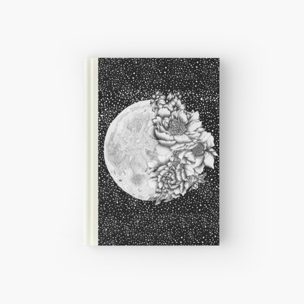 Moon Abloom Hardcover Journal